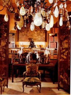 """Chanel...oh so spectacular! Coco Chanel's apartment, """"above the shop"""", Rue Cambon, Paris."""