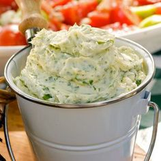 Garlic, Herb and Parmesan Butter