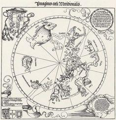Albrecht Dürer, Constellations of the equatorial skies