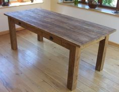 reclaimed dining table from sustainable furniture uk