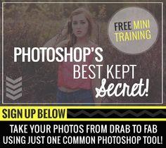 FREE Photoshop Training! http://bit.ly/mbtraining