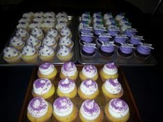 Relay for life cupcakes