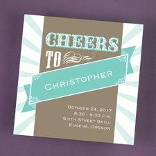 Burst of Cheer - Invitation