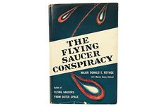 The Flying Saucer Conspiracy, 1955 1st $99.00