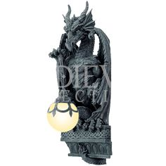 Dragon Hanging Orb Lamp - CC11690 from Medieval Collectibles