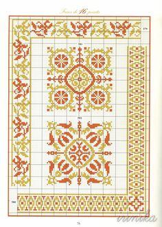 579 a 582 Cross Stitch Love, Cross Stitch Borders, Cross Stitch Alphabet, Cross Stitch Charts, Cross Stitching, Cross Stitch Embroidery, Embroidery Patterns, Cross Stitch Patterns, Loom Beading