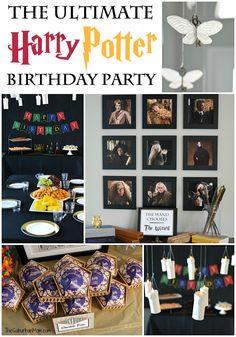 Harry Potter Birthday Party Ideas- activities!