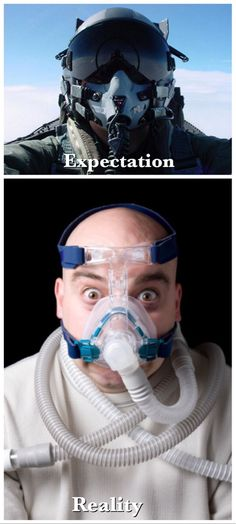 When I learned I would need a mask for my Sleep Apnea [OC] - http://www.seethisordie.com/expectationvsreality/when-i-learned-i-would-need-a-mask-for-my-sleep-apnea-oc/ #funny #fun #reality #expectation #humor