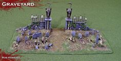 building graveyard cemetery table terrain - Google Search