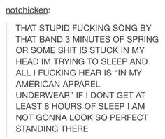 (I try not to pin things with cuss words but oh well) I remember my sister showing me their video's in 2011. And I remember I thought that the first song I ever heard by 5sos was SLSP but it was actually Gotta Get Out and then Heartbreak Girl and then/or SLSP but what was funny is I didn't even recognize that that was the same band from 2011 so when I saw a picture of them in 2014 I didn't even notice that that was the same people. Lol XD I know It sounds a bit weird but that was actually a…