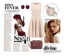 """Shein contest !"" by lejlaaa1996 ❤ liked on Polyvore featuring Michael Kors, MAC Cosmetics, Gianni Bini and Ted Baker"