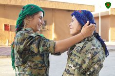 YPJ Rojava Long live our warriors Female Fighter, Army Uniform, Warrior Women, Kurdistan, Freedom Fighters, Long Live, Real Women, Middle East, Camouflage
