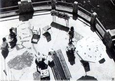 Dom Zdrojowy - opalanie na tarasie. Fotografie Alojzego Milki