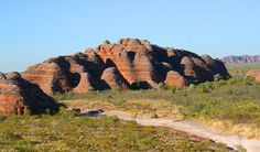 Photograph of rock formation in Kimberley Australia