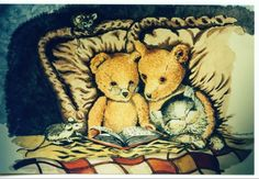 Cute Teddybear Painting! - Other Wallpaper ID 1566835 - Desktop Nexus Abstract
