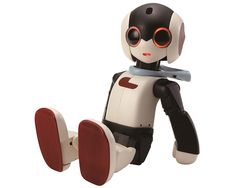 Robi Robot - Here's a new addition to your household! He walks, talks and almost looks just like a mini person. Yes, say hello to Robi, a wonderfully cute and rewarding small robot that you will be able to build and complete yourself. Designed by Tomotaka Takahashi, Robi has around 20 motorized joints and is con ...
