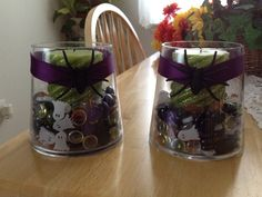 Home Crafted Halloween Candles