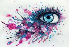 Over-Exaggerated Ocular Art