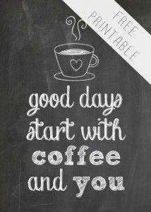 Free Coffee Printable #247moms