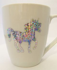 Tell the world about your spirit animal and your love for unicorns! Great for gifts This listing is for one white mug reading my spirit animal is a unicorn. Real Unicorn, Rainbow Unicorn, Unicorn Cups, Unicorn Art, Theme Mickey, Your Spirit Animal, Unicorns And Mermaids, Cute Mugs, Unicorn Birthday