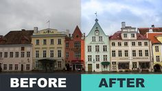 Tallinn Old Town (Before/After Lightroom Video Summary)