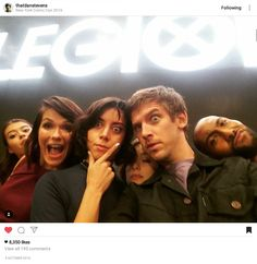 Legion | Dan Stevens on Instagram @ Comic Con