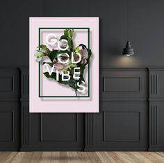 GOOD VIBES x Bloom by Armi Helena Good Vibes, Bloom, Art Prints, Instagram Posts, Art Impressions