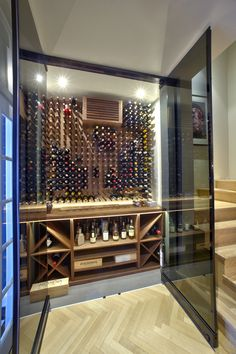 Performance and design using Stact Wine Rack
