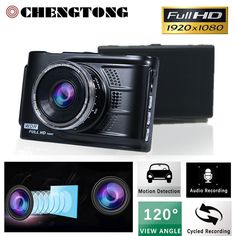 3.0 Inch 1920*1080P Portable Car DVR Camera  Full HD 1080P HDMI 3.0LTPS AUTO Car Recorder Camcode LCD Screen Black/Golden CD017