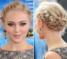 AnnaSophia Robb's Romantic Braided Updo