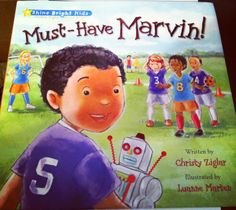 Troy and Mel's Reviews and More: Must Have Marvin GIVEAWAY