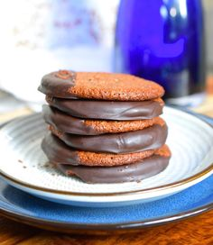 Paleo Chewy Chocolate Cookies are rich with flavor and healthy nutrients. They are grain, refined flour, refined sugar, gluten, and dairy free. You won't believe how tasty healthy food can be!!! These cookies are crunchy on the outside, chewy on the inside.  Recipe Here.