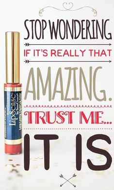 Once you try Lipsense, you will fall in love! Kissproof, smudgeproof, all around amazing lip color! #lipsense #lipstick #gloss #lipstickquotes