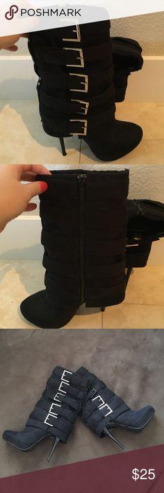 Selling this Boots on Poshmark! My username is: kittycat14. #shopmycloset #poshmark #fashion #shopping #style #forsale #Michael Antonio #Shoes