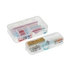 Two-Sided Comparment Storage Boxes