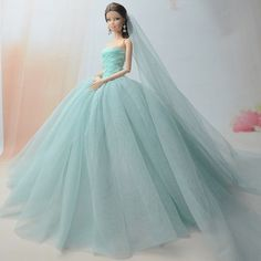 Doll Accessories Fashion Dress For Barbie Doll Costume Dresses Doll Clothes Toy