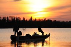 Sunset near Ignace, Ontario
