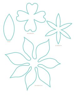 Yah! Templates for flowers