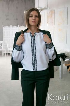 Ruffle Blouse, Stitch, Embroidery, Womens Fashion, Casual, Shirts, Outfits, Clothes, Collection