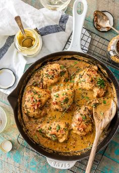 Bow Down to This One-Skillet Mustard & Bacon Chicken — Delicious Links