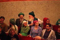 Il pubblico del Teatro Sanzio per lo spettacolo di sabato 5 ottobre. Biosalus Festival. Foto: Città di Urbino