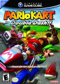 gamecube mario kart - Google Search.... I have had this game forever. It is for the gamecube and they are really old so i think that makes it even more valuable. I think it is the funnest mario game