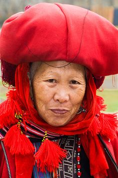 #Vietnam | Red Dzao woman, Sa Pa | � Daniel Nadler  #Travel Vietnam - We cover the world over 220 countries, 26 languages and 120 currencies Hotel and Flight deals.guarantee the best price multicityworldtravel.com