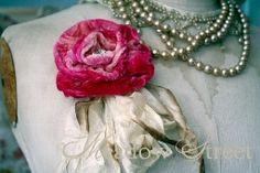 Velvet Rose with Crystal - 4