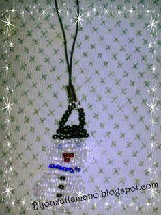 Phone strap Snowman