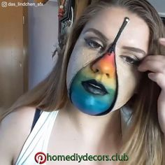 This Makeup Removal Is Either Totally Gross Or Visually Satisfying, I Can't Decide - Video - Halloween costumes diy Sfx Makeup, Costume Makeup, Makeup Remover, Makeup Art, Makeup Tips, Special Makeup, Special Effects Makeup, Buzzfeed, Halloween Makeup Looks