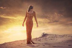 "sunset iris huis - ""Sunset Dunes""  Composite of Iris at the dunes"