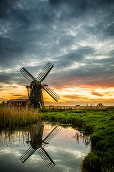 Herringfleet Windpump, Norfolk, England