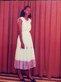 Traditional dress!