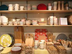 IRIS HANTVERK / pottery, trays, cutting boards + wooden utensils (Image: www.toteshoppe.com)